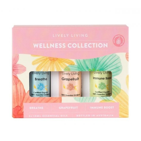 Lively Living Wellness Collection Trio Kit