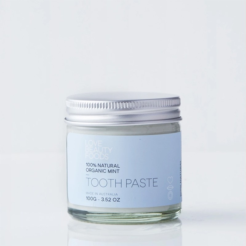 Love Beauty Foods Natural Toothpaste 100g - Organic Mint