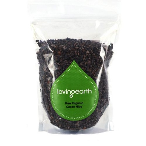 Loving Earth Raw Organic Cacao Nibs - 250g