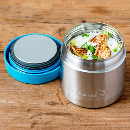 Lunchbots Thermal - Stainless Steel Insulated Food Jar 470ml - Aqua