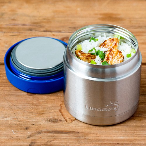 Lunchbots Thermal - Stainless Steel Insulated Food Jar 470ml - Blue