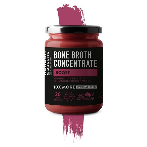 Meadow & Marrow Bone Broth Concentrate 26 serves - Boost