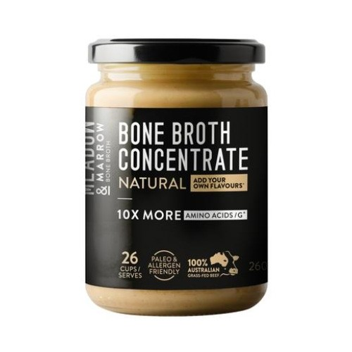 Meadow & Marrow Bone Broth Concentrate 26 serves - Natural