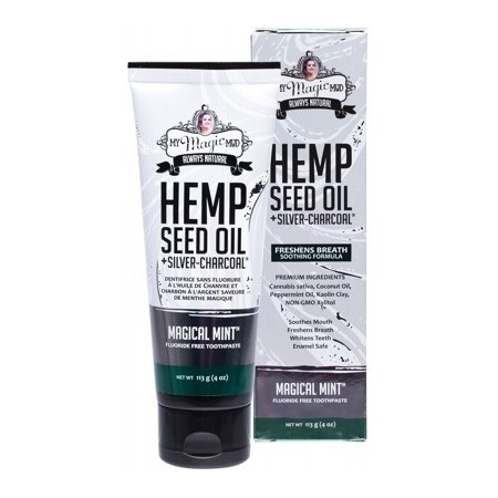 My Magic Mud Hemp Seed Oil Toothpaste 113g - Magical Mint