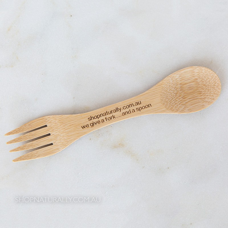Naturally Curated Bamboo Spork