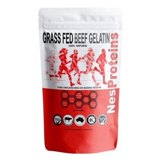 Nes Proteins Grass Fed Gelatin Powder 450g