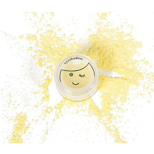 No Nasties Kids Shimmery Eyeshadow Single - Lemon