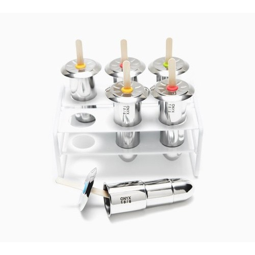 Onyx Stainless Steel Popsicle Maker - 6