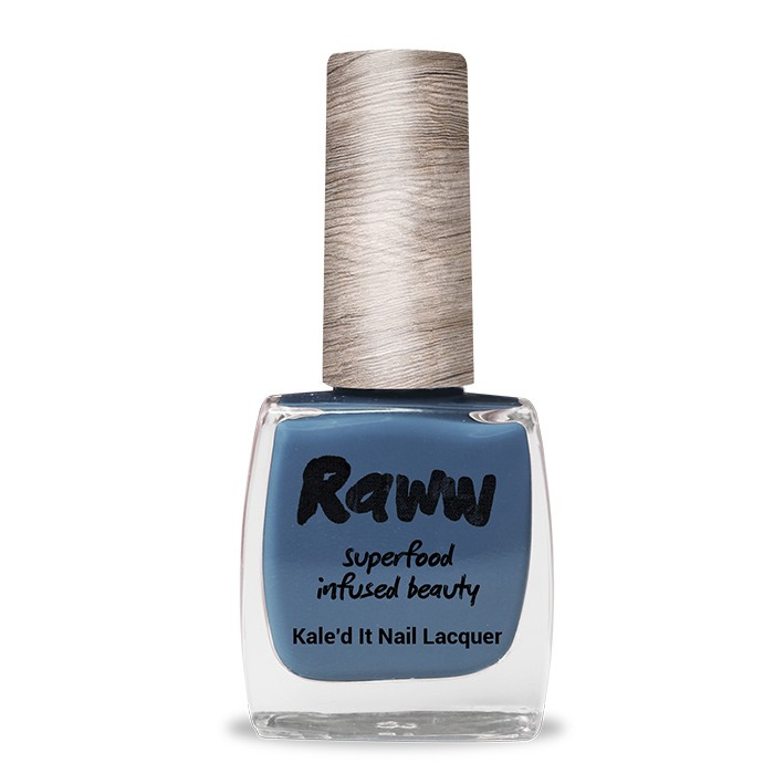 Raww Kale'd It 10-Free Nail Lacquer 10ml - Bathed In Blueberries