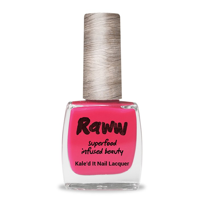 Raww Kale'd It 10-Free Nail Lacquer 10ml - Strawberry Bang