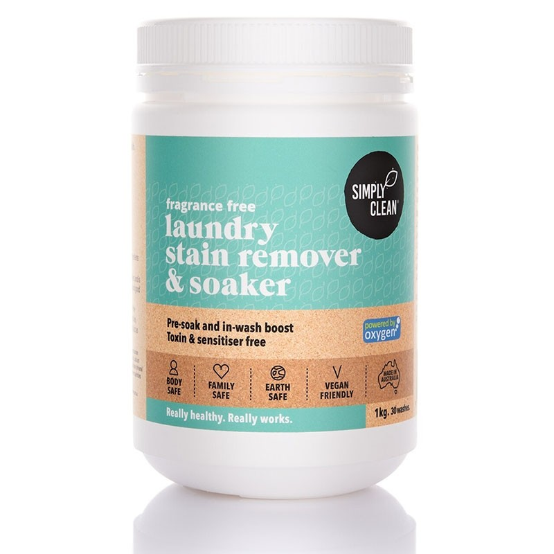 Simply Clean Laundry Stain Remover & Soaker 1kg - Fragrance Free