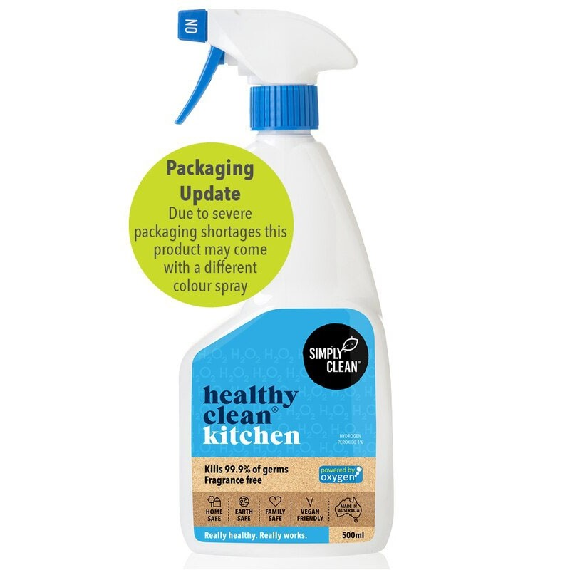Simply Clean Healthy Clean Kitchen 500ml - Fragrance Free