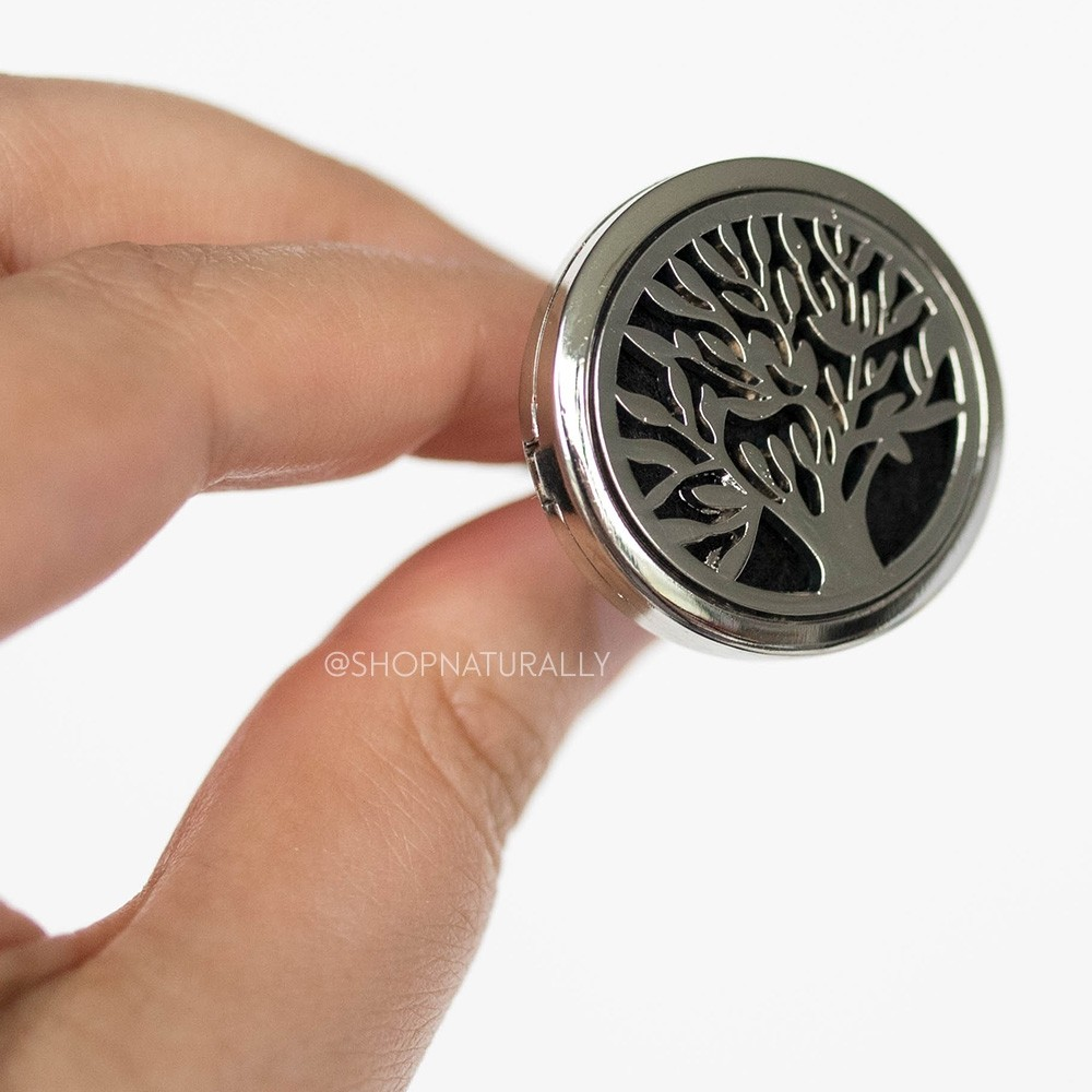 Shop Naturally Aromatherapy Car Diffuser Locket - Tree