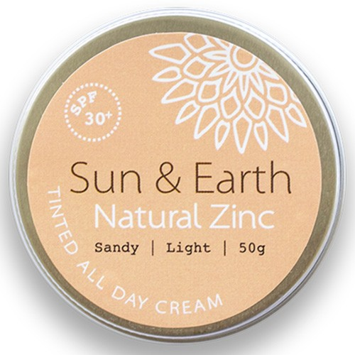 Sun & Earth Tinted All Day Cream SPF30 50g - Sandy (light)