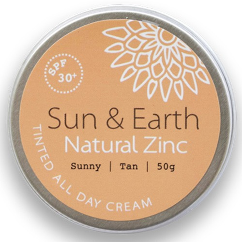Sun & Earth Tinted All Day Cream SPF30 50g - Sunny (medium)