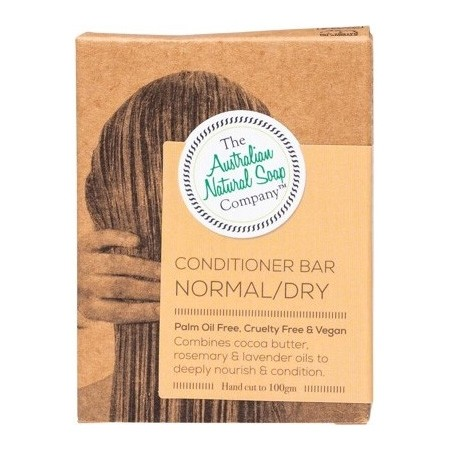 The Australian Natural Soap Co Solid Conditioner Bar - Normal / Dry