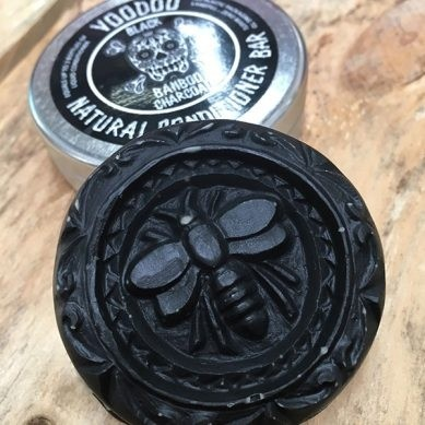 Beauty & The Bees Conditioner Bar 40g - Voodoo Bamboo Charcoal