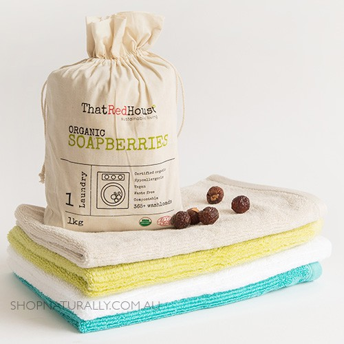 That Red House Organic Soapberries - 1kg (365+ washes)