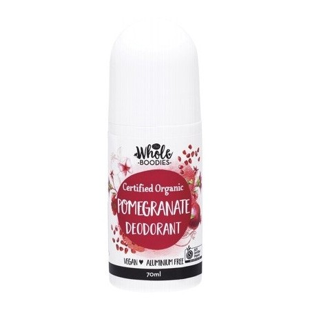 The Whole Boodies Roll-On Deodorant 70ml - Pomegranate