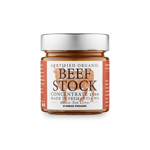 Urban Forager Certified Organic Beef Stock Concentrate 250g