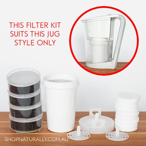 Waters Co Bio Mineral Pot Ace 1.0L Replacement Filter Kit
