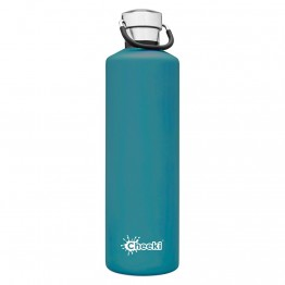 Cheeki Insulated Stainless Steel Water Bottle 1 litre - Topaz