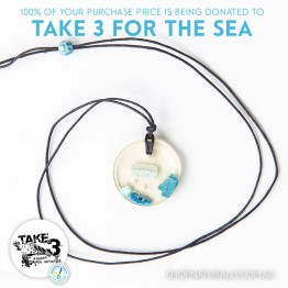 Take 3 Official Fundraising Pendant - Limited Edition 10 of 20