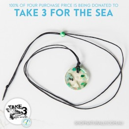Take 3 Official Fundraising Pendant - Limited Edition 11 of 20