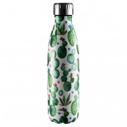 Avanti Stainless Steel Insulated Water Bottle / Flask - 500ml Cactus