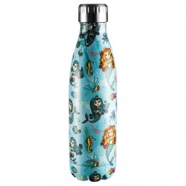 Avanti Stainless Steel Insulated Water Bottle / Flask - 500ml Mermaid