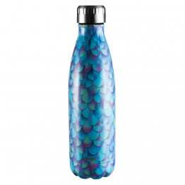 Avanti Stainless Steel Insulated Water Bottle / Flask - 500ml Mermaid Scales