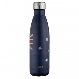 Avanti Stainless Steel Insulated Water Bottle / Flask - 500ml Aussie Flag