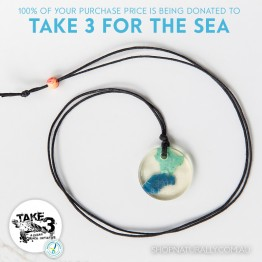 Take 3 Official Fundraising Pendant - Limited Edition 12 of 20
