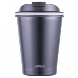 Avanti Stainless Steel Insulated Coffee Cup - 280ml Black