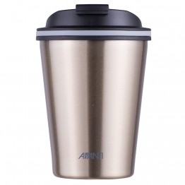 Avanti Stainless Steel Insulated Coffee Cup - 280ml Champagne