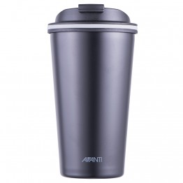 Avanti Stainless Steel Insulated Coffee Cup - 410ml Black