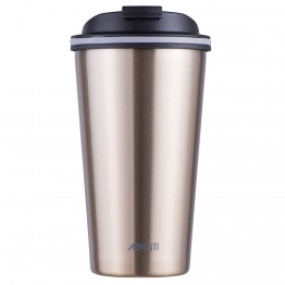 Avanti Stainless Steel Insulated Coffee Cup - 410ml Champagne