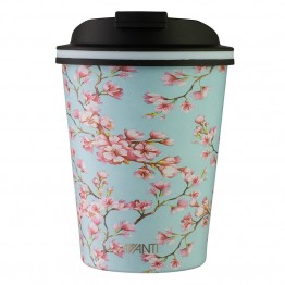 Avanti Stainless Steel Insulated Coffee Cup - 280ml Blossom