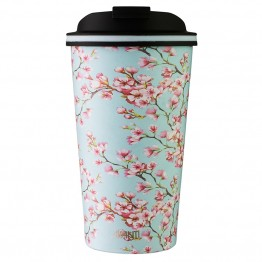 Avanti Stainless Steel Insulated Coffee Cup - 410ml Blossom