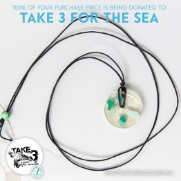 Take 3 Official Fundraising Pendant - Limited Edition 13 of 20