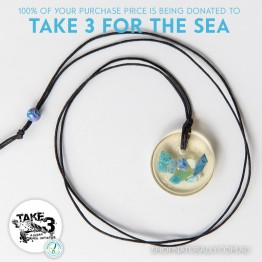 Take 3 Official Fundraising Pendant - Limited Edition 14 of 20