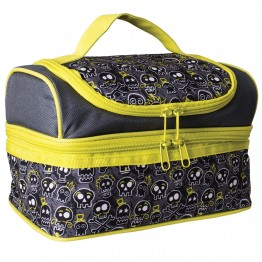 Avanti Double Decker Insulated Lunch Bag - Skull
