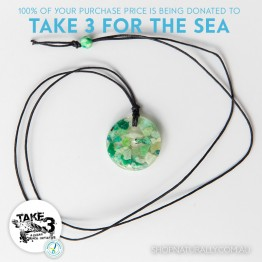 Take 3 Official Fundraising Pendant - Limited Edition 16 of 20