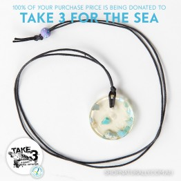 Take 3 Official Fundraising Pendant - Limited Edition 02 of 20