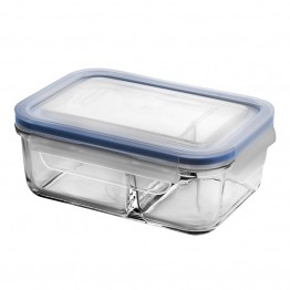 Glasslock Duo Glass Bento Box - 670ml