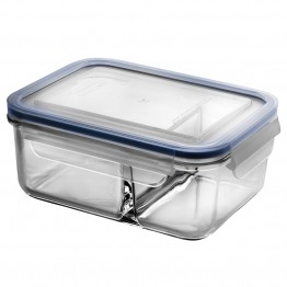 Glasslock Duo Glass Bento Box - 1 litre