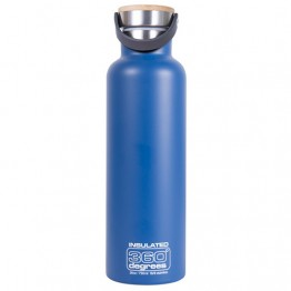 360 Degrees Insulated Stainless Steel Water Bottle - 750ml Ocean Blue