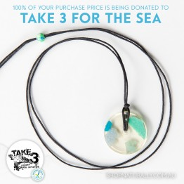 Take 3 Official Fundraising Pendant - Limited Edition 03 of 20