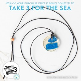 Take 3 Official Fundraising Pendant - Limited Edition 04 of 20