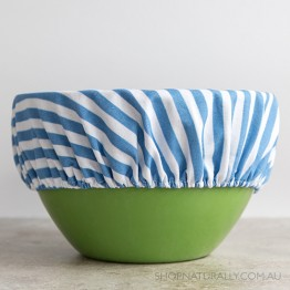 4MyEarth Reusable Food Cover XL - Denim Stripe